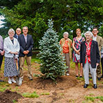 TREE PLANTING SYMBOLIZES GRATITUDE, NEW LIFE