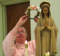 ST. CATHERINE'S HONORS OUR LADY