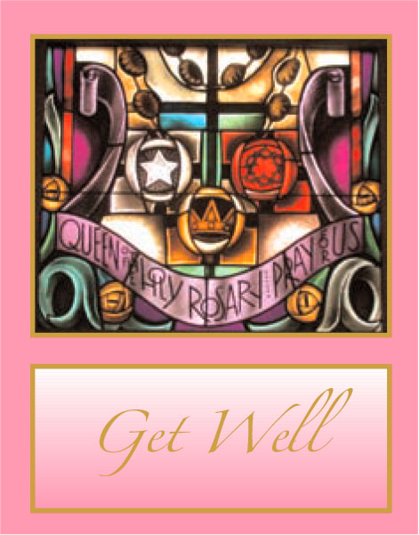 #007 Get Well Message: If the thoughts of others can speed recovery, you should be feeling wonderful