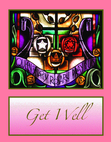 #007 Get Well Message: If the thoughts of others can speed recovery, you should be feeling wonderful.