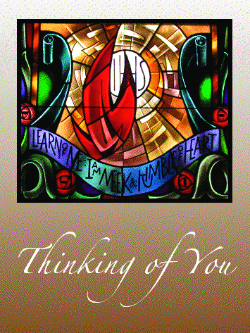 #001 Thinking of You Message: May the peace beyond all human understanding hold you in God's heart today and always.